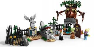 LEGO Hidden Side 70420 Záhada na hřbitově - rozbaleno