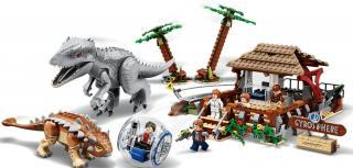 LEGO Jurassic World 75941 Indominus rex vs. ankylosaurus - rozbaleno