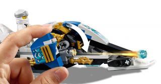 LEGO Ninjago 70667 Kaiova motorka s čepelemi a Zaneův sněžný vůz - rozbaleno