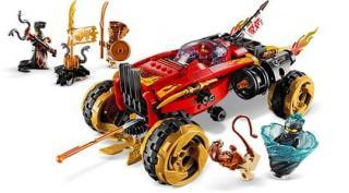 LEGO Ninjago 70675 Katana 4x4 - rozbaleno