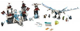 LEGO Ninjago 70678 Hrad zapomenutého císaře - rozbaleno