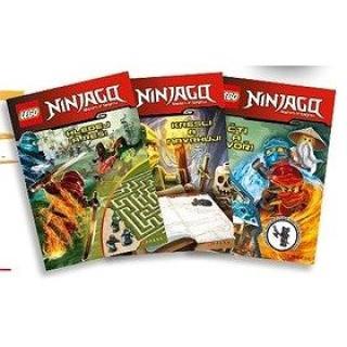 LEGO NINJAGO Krabička plná knih: Hledej a vyřeš, Kresli a navrhuj, Čti a vytvoř figurka