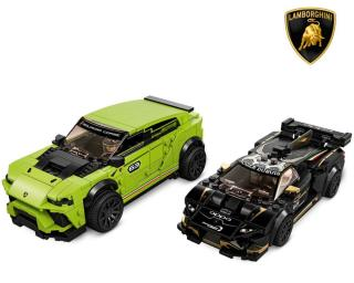 LEGO Speed Champions 76899 Lamborghini Urus ST-X & Lamborghini Huracán Super Trofeo EVO - rozbaleno