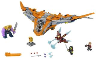 LEGO Super Heroes 76107 Thanos: Poslední bitva - rozbaleno