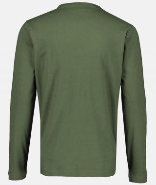 Lerros pánské tričko 2094063 L zelená