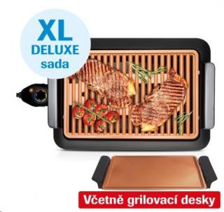 Livington Smokeless Grill Deluxe XL - Interiérový gril