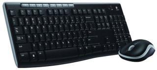 Logitech Wireless Desktop MK270 CZ  - zánovní