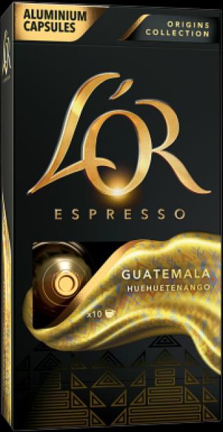 LOR Guatemala 10 kapslí