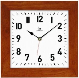 Lowell Nástěnné hodiny 21035N tmavě hnědá - rozbaleno