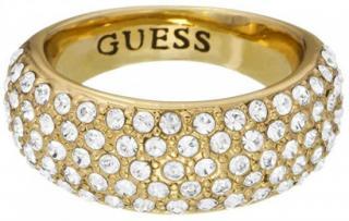 Luxusní pozlacený prsten s krystaly UBR51432