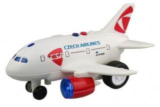MaDe Letadlo ČSA s hlášením kapitána a letušky, - zánovní