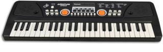 MaDe Piáno elektronické s mikrofonem, 49 kláves - rozbaleno