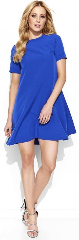 Makadamia dámské šaty 42 modrá - zánovní