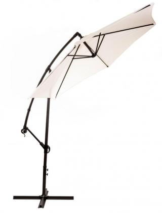 MAKERS Miami - boční slunečník 2,7 m, béžový - použité