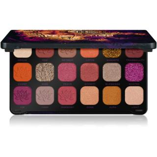 Makeup Revolution Forever Flawless paleta očních stínů odstín Good Vibes Spirituality 18 x 1,1 g
