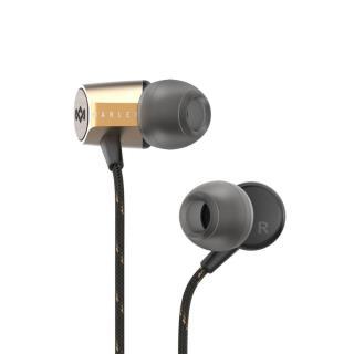 MARLEY Uplift 2.0 sluchátka s mikrofonem, zlatá - zánovní
