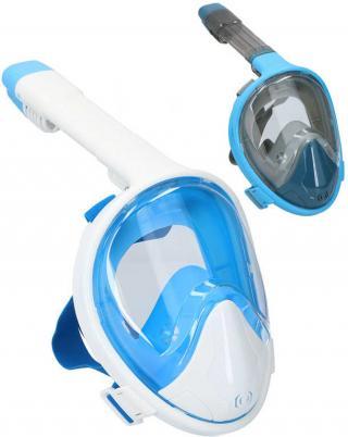Maska potápěčská šnorchlovací dospělá vel.L/XL do vody celoobličejová 2 barvy