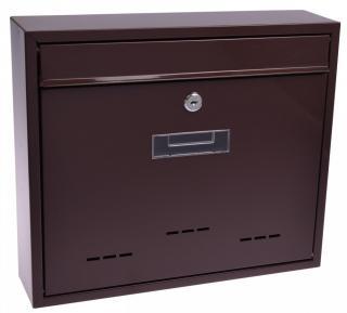 M.A.T. Group schránka poštovní RADIM V 360x310x90mm Hnědá - zánovní