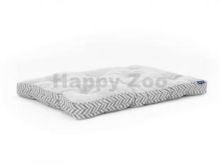 Matrace PROJECT BLU Goa šedý vzor (M) 50x70x10cm