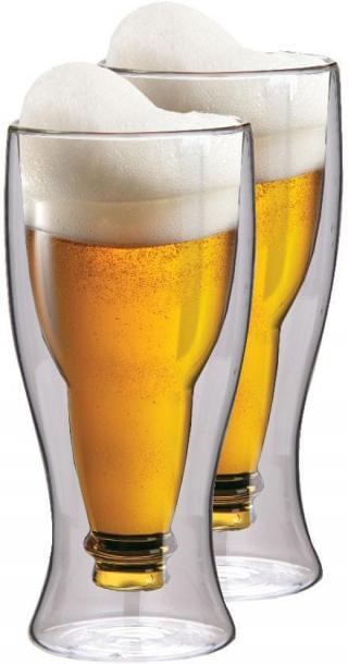 MAXXO Termo skleničky Beer 350 ml, 2ks - zánovní