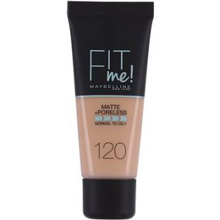 MAYBELLINE NEW YORK Fit Me! Matte & Poreless Make Up 120 Classic Ivory 30 ml