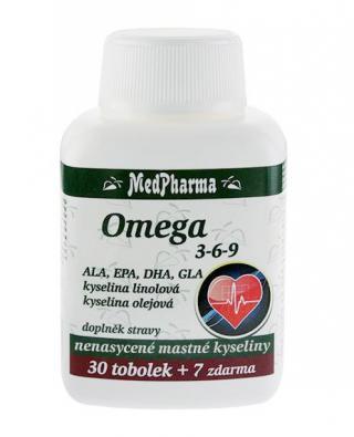 Medpharma Omega 3-6-9 37 tobolek
