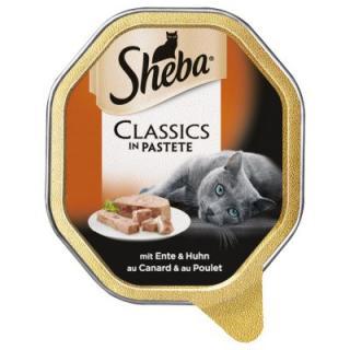 Megapack Sheba mističky 22 x 85 g - Mousse s kuřecím masem