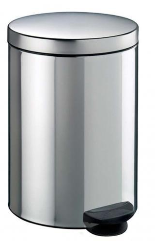 Meliconi Koš na odpadky 5 l PEDAL BIN nerezová ocel - rozbaleno