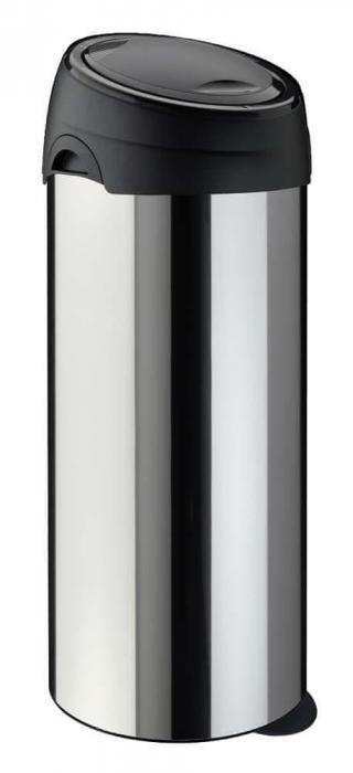 Meliconi Koš na odpadky SOFT-TOUCH 60 INOX nerezová ocel - zánovní