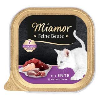 Miamor Feine Beute vanička 16 x 100 g - krůtí