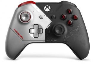 Microsoft Xbox One Gamepad, Cyberpunk  - rozbaleno