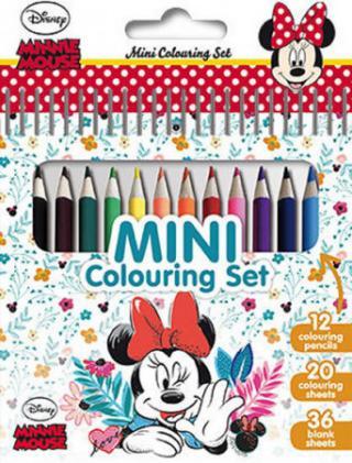 Minnie - Mini set s pastelkami