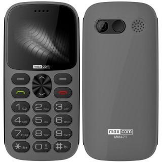 Mobilní telefon MaxCom MM471 šedý
