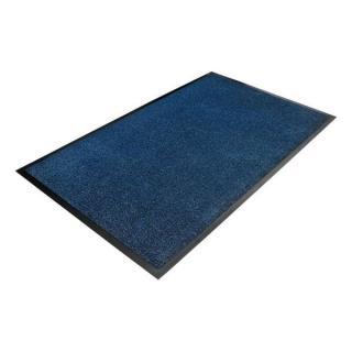 Modrá Textilní Čistící Vnitřní Vstupní Rohož - 150 X 90 X 0,7 Cm