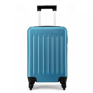 Modrý cestovní velmi kvalitní prostorný kufr Bartie