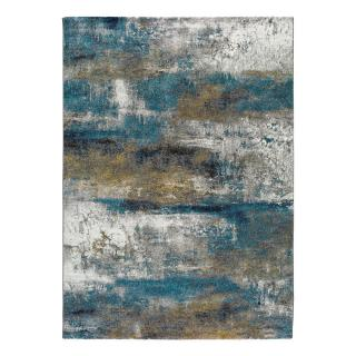 Modrý koberec Universal Kalia Abstract, 140 x 200 cm