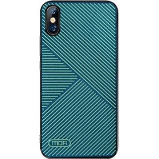 MoFi Anti-slip Back Case Strip iPhone X / XS Zelené
