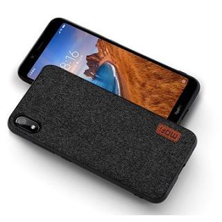 MoFi Fabric Back Cover Xiaomi Redmi 7A Černé