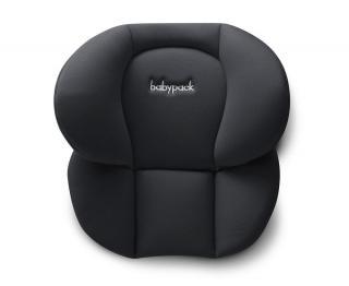 More Babypack Polstrování do autosedačky - pod hlavu plus, černé - rozbaleno