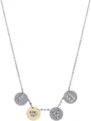 Morellato Ocelový náhrdelník s penízky Monetine SAHQ01