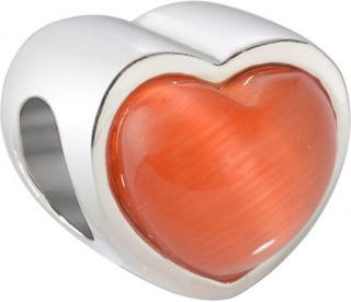 Morellato Ocelový přívěsek Drops Red Heart SCZ422
