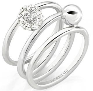 Morellato Ocelový prsten Luminosa SAET09 56 mm