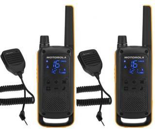 Motorola TLKR T82 Extreme, RAM Pack, žlutá/černá - rozbaleno