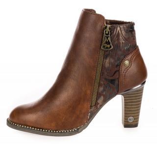 Mustang dámská kotníčková obuv 1335501-1 36 hnědá