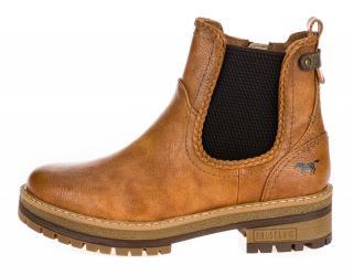 Mustang dámská kotníčková obuv 1344601-1 38 hnědá