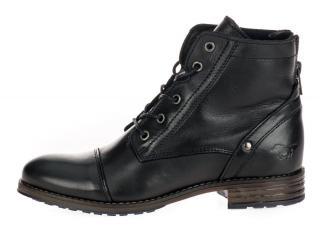 Mustang dámská kotníčková obuv 2853514 36 černá
