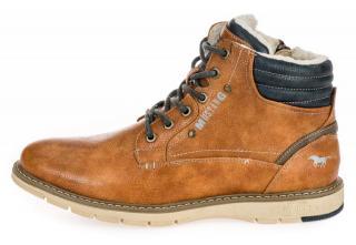 Mustang pánská kotníčková obuv 4105608 41 hnědá