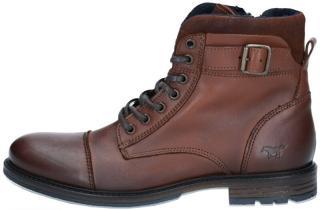 Mustang Pánské kotníkové boty 4890505-301 kastanie 45