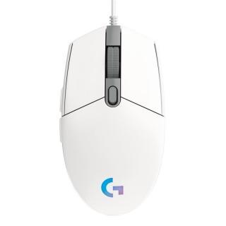 Myš Logitech Gaming G203 Lightsync bílá