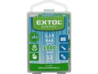 Nabíjecí baterie Extol 12ks HR03